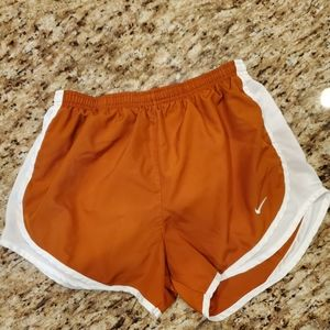 Nike Burnt Orange Running Shorts